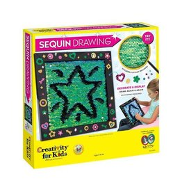 CREATIVITY FOR KIDS *Sequin Drawing