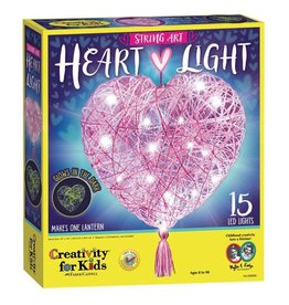 CREATIVITY FOR KIDS HEART STRING ART