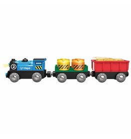 Hape Battery Powered Rolling-Stock Set