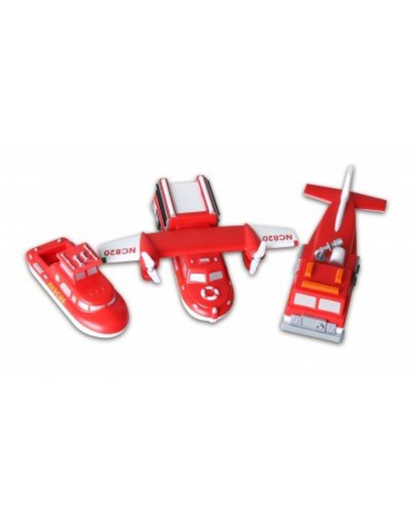 POPULAR PLAYTHINGS FIRE AND RESCUE  MIX AND MATCH