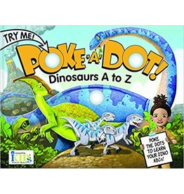 INNOVATIVE KIDS DINO A TO Z POKE A DOT BOOK