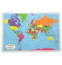 M RUSKIN WORLD PLACEMAT