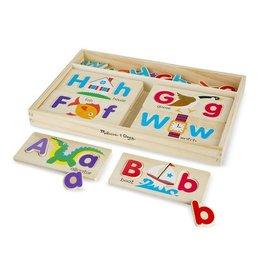 MELISSA & DOUG ABC Picture Boards/ 52 letters