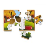 MELISSA & DOUG Pets Wooden Jigsaw Puzzles in a Box