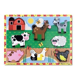 MELISSA & DOUG FARM CHUNKY WOOD 2+