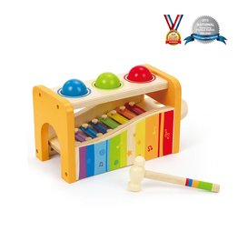 Hape MELODIES POUND AND TAP BENCH