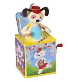 SCHYLLING POLKA PUPPY JACK IN BOX
