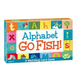 PEACEABLE KINGDOM ALPHABET GO FISH! CARD GAME 4+