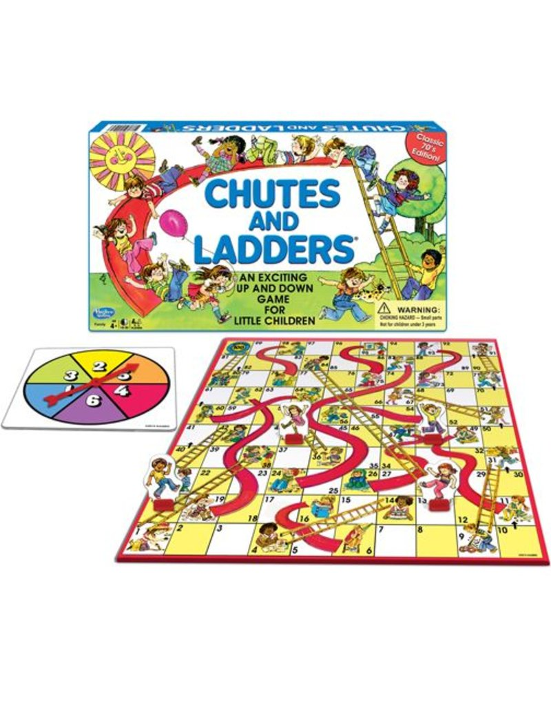 Winning Moves CHUTES AND LADDERS
