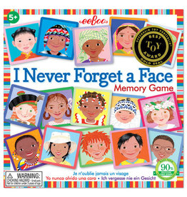 EEBOO I Never Forget a Face Square Matching Game