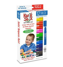 PENCIL GRIP 12PC KWIK STIX