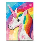 CREATIVITY FOR KIDS UNICORN COLORING WITH CLAY