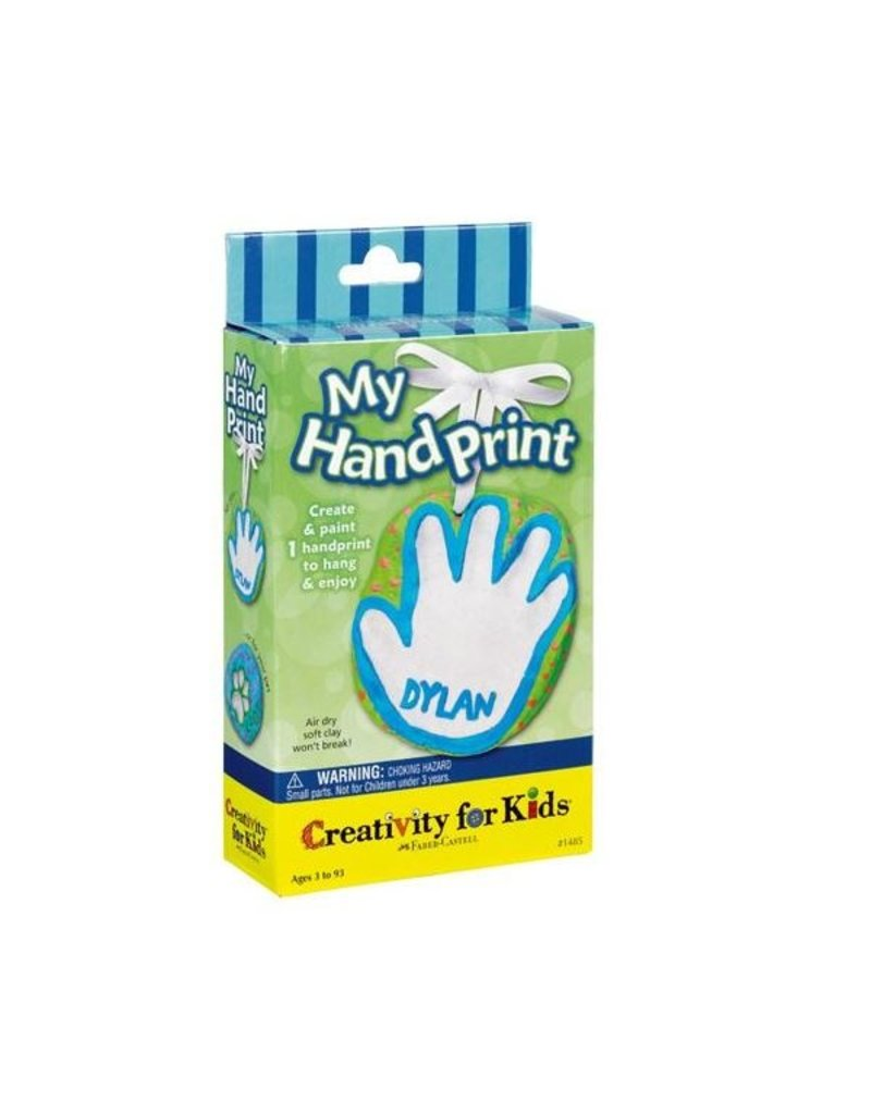CREATIVITY FOR KIDS My Hand Print