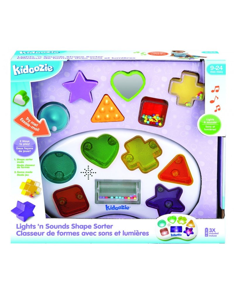 INTERNATIONAL PLAYTHINGS *Lights 'n Sounds Shape Sorter