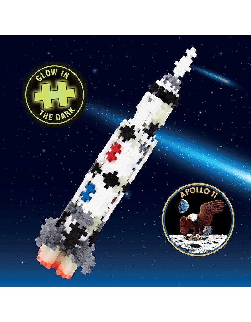 Plus-Plus 240 pc Tube - Saturn V Rocket - NEW