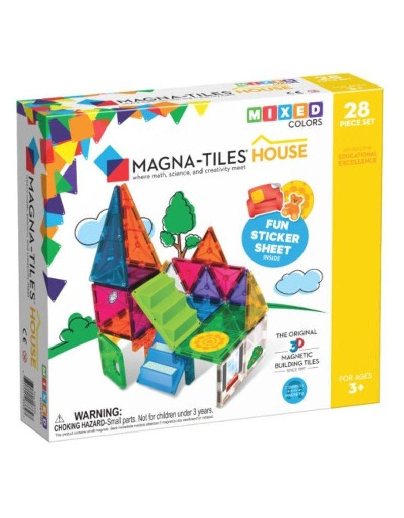 VALTECH Magna-Tiles House 28 Piece Set