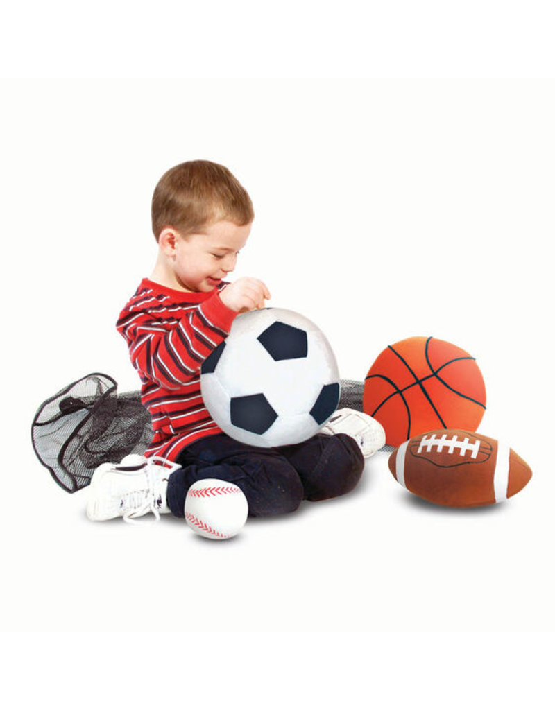 MELISSA & DOUG SPORTS PILLOWS