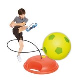 Mookie Swing Ball Reflex Green Soccer /Red base