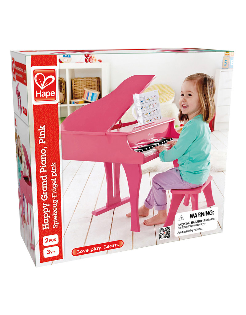 Hape PINK HAPPY GRAND PIANO