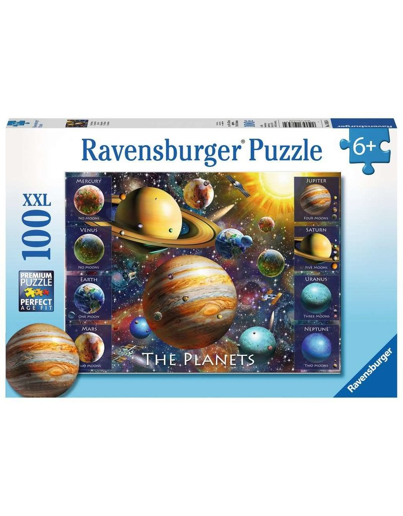 RAVENSBURGER THE PLANETS 100 PC