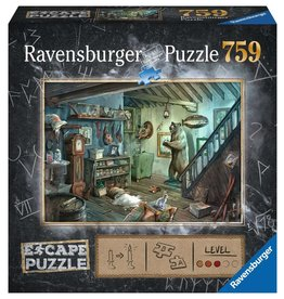 RAVENSBURGER THE FORBIDDEN BASEMENT ESCAPE 750PC