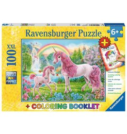RAVENSBURGER Magical Unicorns 100PC +CB