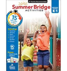 CARSON DELLOSA SUMMER BRIDGE ACTIVITIES K-1S