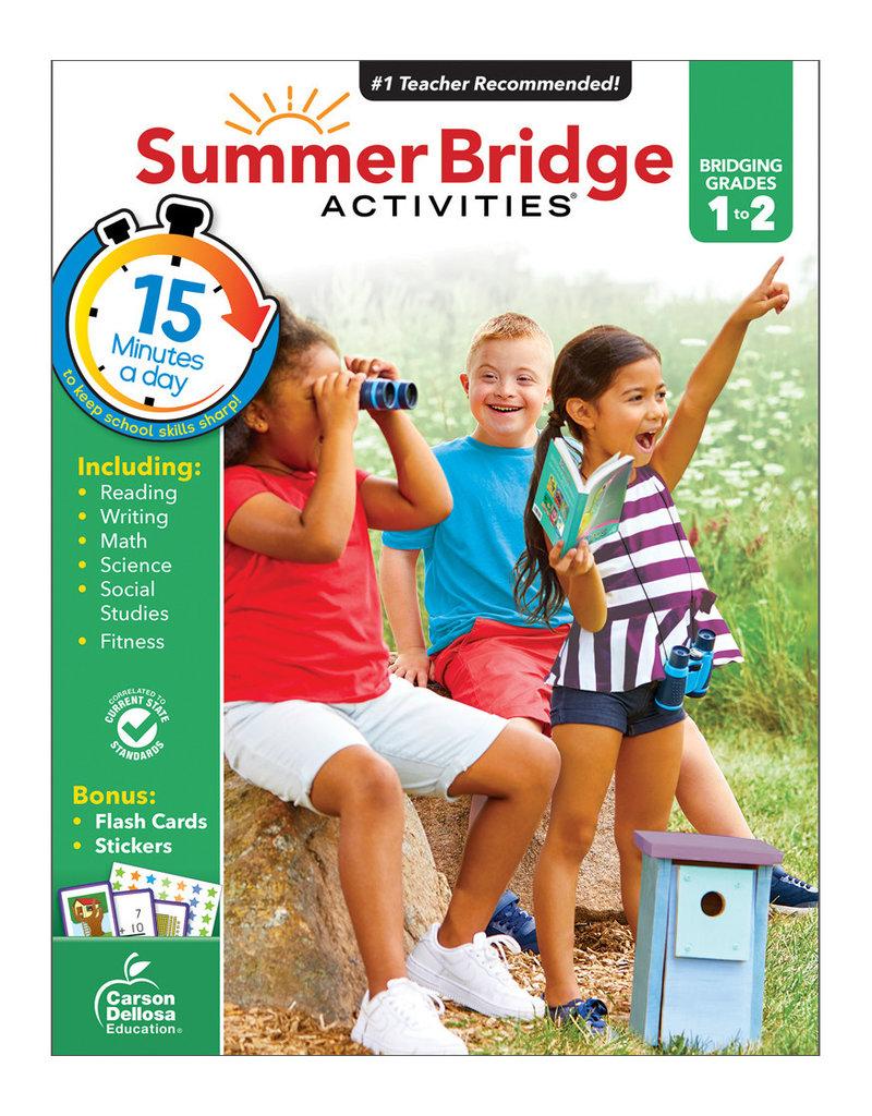 CARSON DELLOSA SUMMER BRIDGE ACTIV. 1ST-2ND