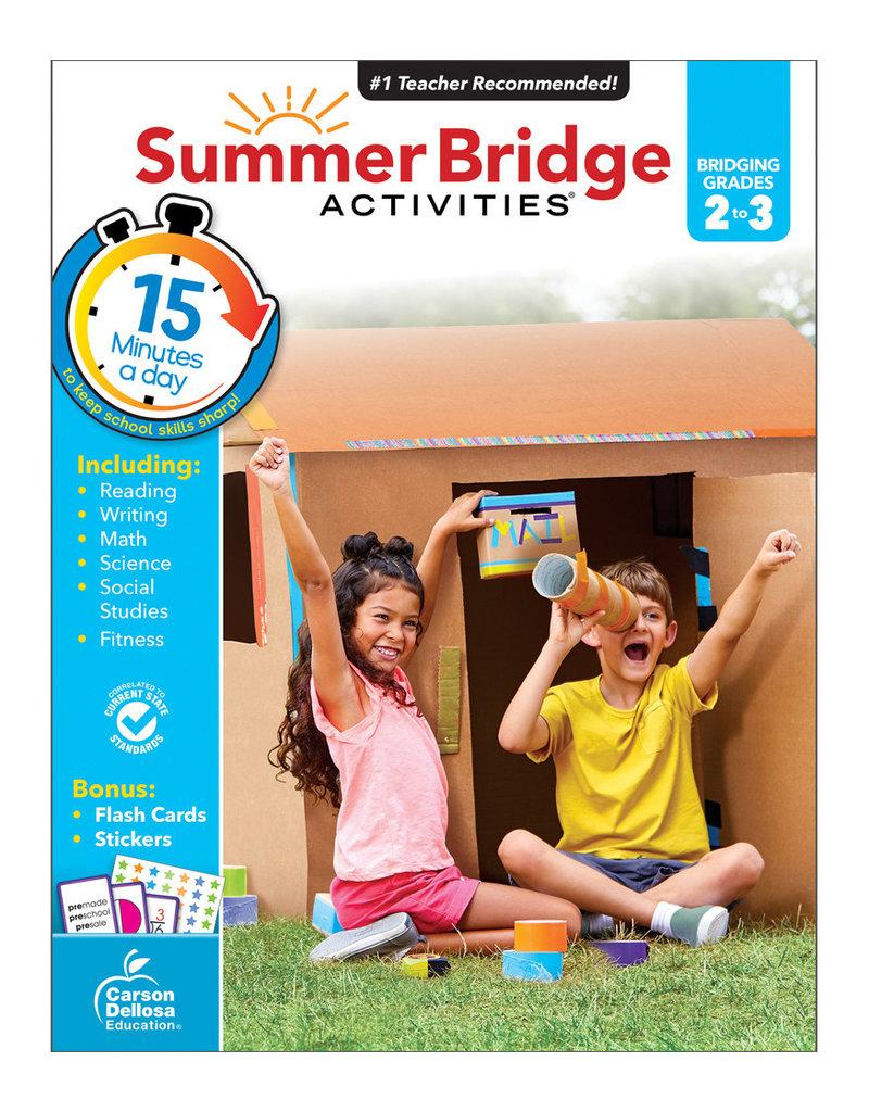 CARSON DELLOSA SUMMER BRIDGE ACTIV. 2ND-3RD