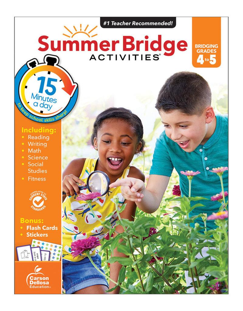 CARSON DELLOSA SUMMER BRIDGE ACTIV. 4TH-5TH