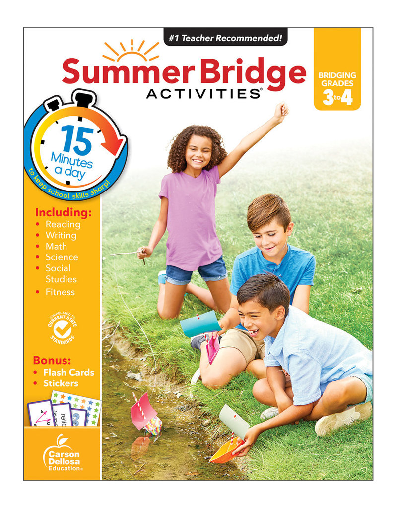 CARSON DELLOSA SUMMER BRIDGE ACTIV. 3RD-4TH