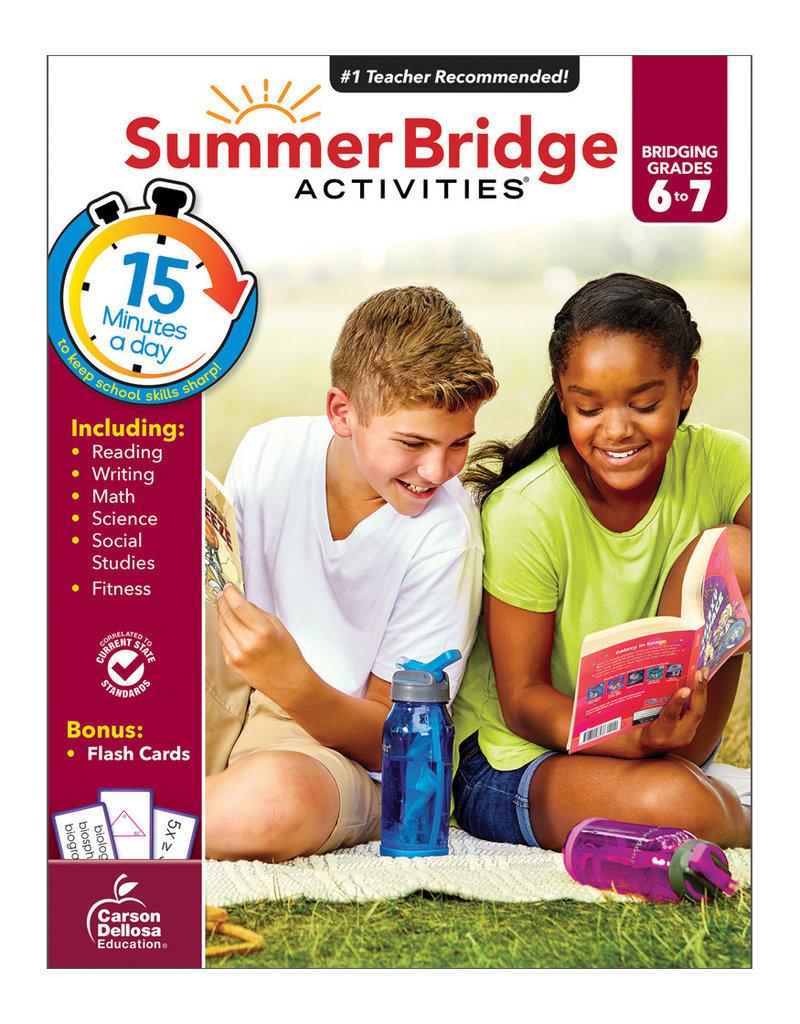 CARSON DELLOSA SUMMER BRIDGE ACTIV.  6-7th
