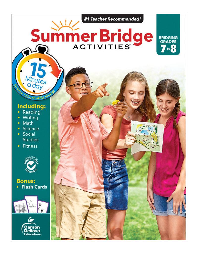 CARSON DELLOSA SUMMER BRIDGE ACTIV.  7-8th