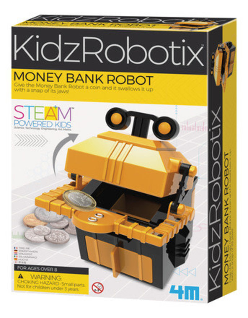 TOYSMITH MONEY BANK ROBOT
