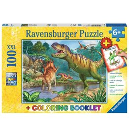 RAVENSBURGER WORLD OF DINOSAURS 100PC W/CB