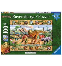 RAVENSBURGER Dinosaurs 100PC