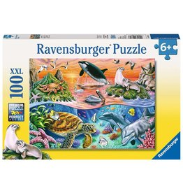 RAVENSBURGER BEAUTIFUL OCEAN 100PC