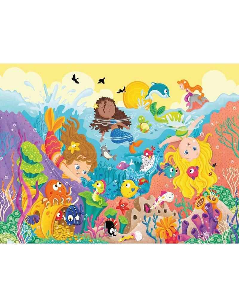 RAVENSBURGER Splashing Mermaids FP