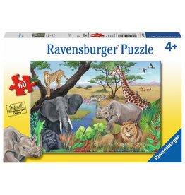 RAVENSBURGER Safari Animals 60PC