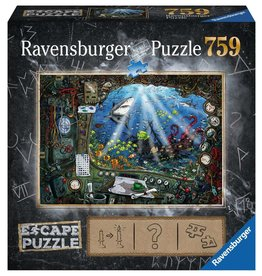 RAVENSBURGER Submarine ESCAPE PUZZLE 750pc