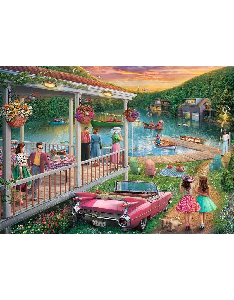 RAVENSBURGER SUMMER AT THE LAKE 300PC LF