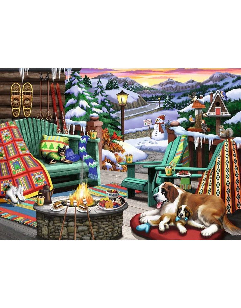 RAVENSBURGER APRES ALL DAY 500PC LF