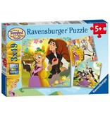 RAVENSBURGER Tangled TV Series (3 x 49 pc Puzzles)
