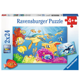 RAVENSBURGER Vibrance Under the Sea 2X24