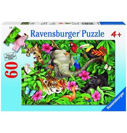 RAVENSBURGER Tropical Friends 60 pc Puzzle