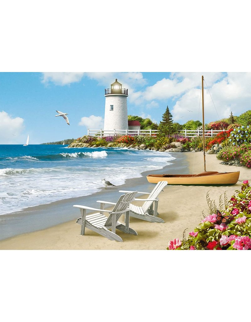 RAVENSBURGER Sunlit Shores 300PC LF