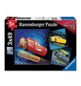 RAVENSBURGER Cars 3 (3 x 49 pc Puzzles)