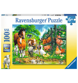RAVENSBURGER Animals Get Together 100pc