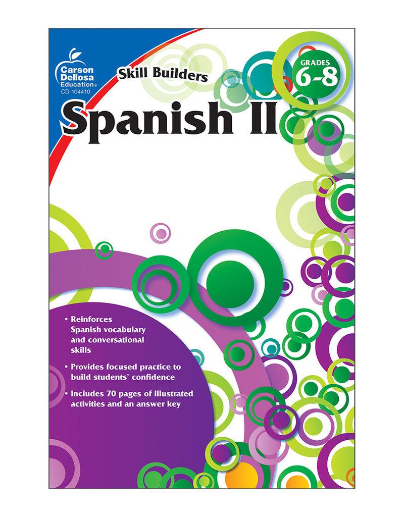CARSON DELLOSA SPANISH II 6-8