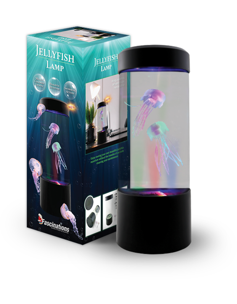 FASCINATIONS JELLYFISH LAMP